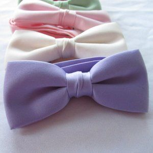 Other - 5 Men's Satin Bow ties